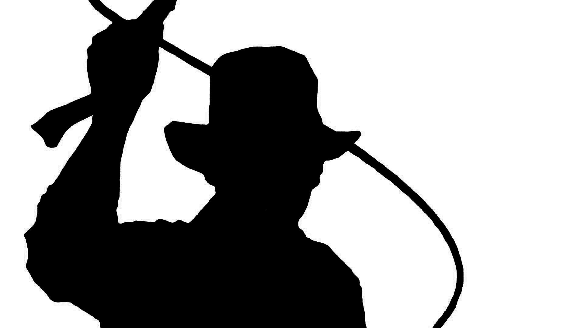 Silhouette Of Indiana Jones | Nicole Kennedy Design